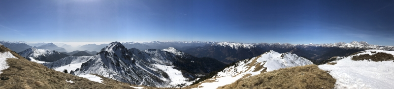 Panoramica sulle Alpi Carniche