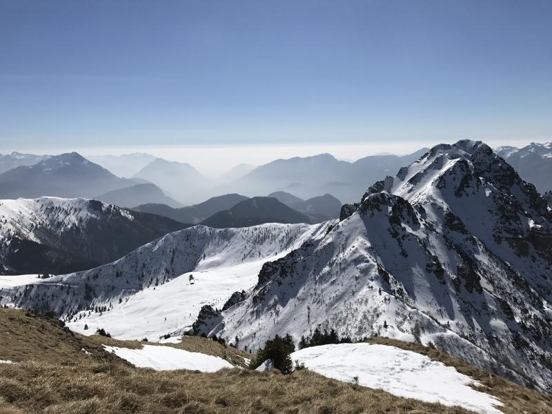 Panorama dal Monte Tamai